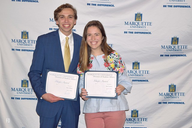 MU Student Leadership Awards 2018