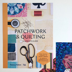 Contributor to the V&A Museum's book, Patchwork & Quilting