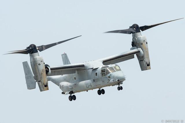 Iwakuni FD 2018 (61) VMM-262 MV-22B (Osprey) ET-04/168279