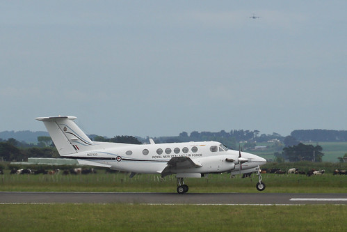 Royal New Zealand Air Force Beech  Super King Air  NZ7123 - RNZAF Base Ohakea