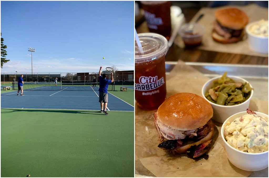 tennis and dinner