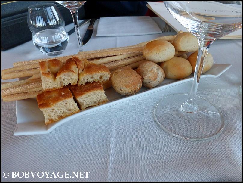 המאפים ב- מסעדת Bovio ב- פיימונטה (Piedmont)