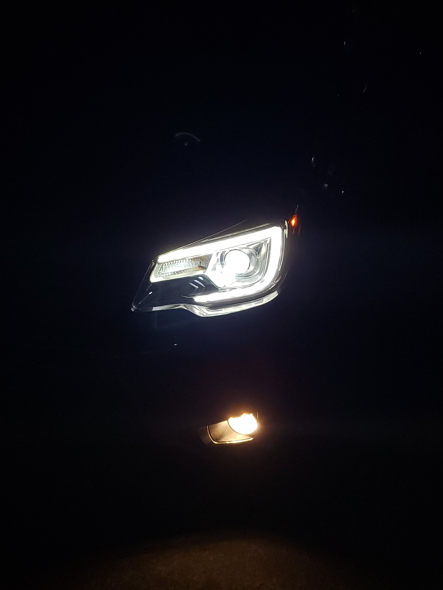 14-'18) - 17 OEM LED headlights from a touring / black into