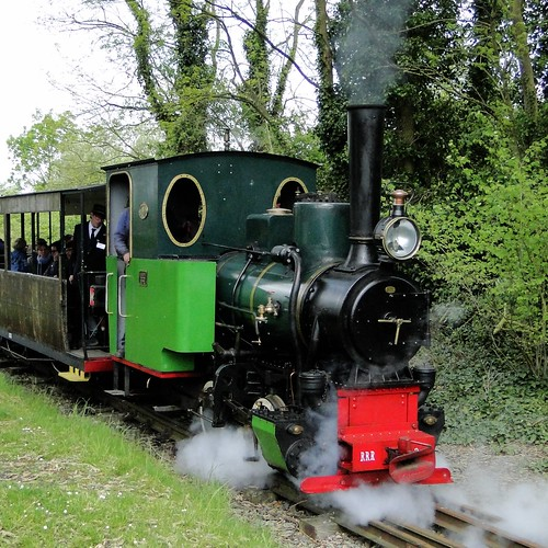 RRR Rail Rebecq Rognon Steamlocomotive 'Arthur'.