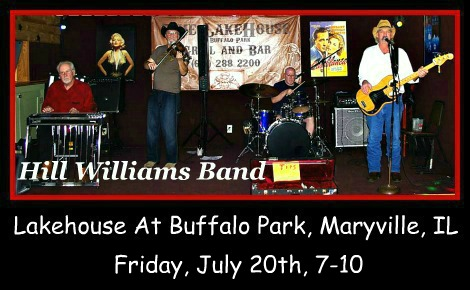 Hill Williams Band 7-20-18