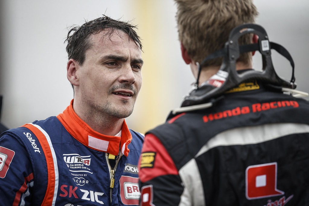 MICHELISZ Norbert (HUN), BRC Racing Team, Hyundai i30 N TCR, portrait during the 2018 FIA WTCR World Touring Car cup of Nurburgring, Germany from May 10 to 12 - Photo Francois Flamand / DPPI