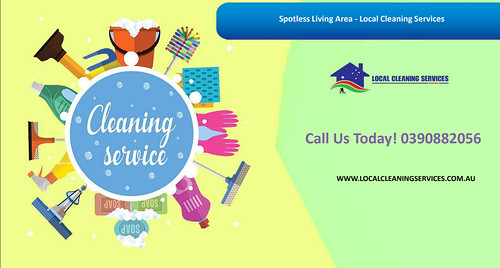 Spotless Living Area - Local Cleaning Services