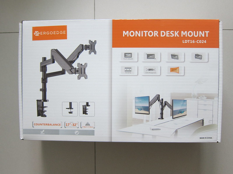 Freedom Dual Monitor Arm - Box