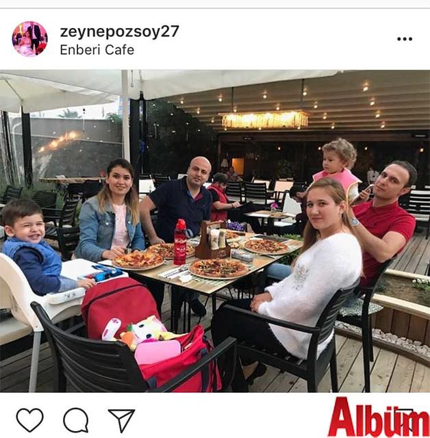 Zeynep Kasimağaoğlu ve eşi Taner Kasımağaoğlu, yakın dostları Hakan ve Sibel Çiviler çiftiyle Enberi'de ailecek güzel bir gün geçirdi.