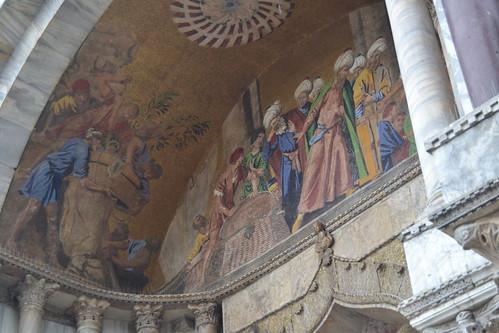 Basilica San Marco (portada). Venezia