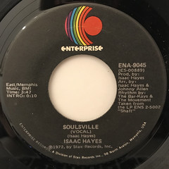 ISAAC HAYES:LET'S STAY TOGETHER(LABEL SIDE-B)