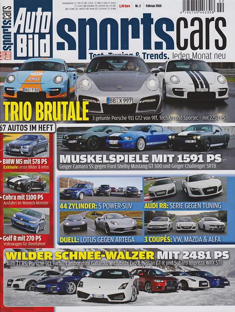 Auto Bild Sportscars 2/2010