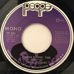 HANK BALLARD:FINGER POPPIN' TIME(LABEL SIDE-A)