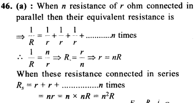 NEET AIPMT Physics Chapter Wise Solutions - Current Electricity explanation 46