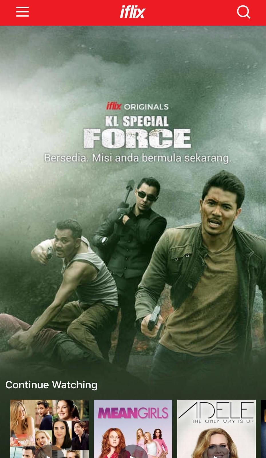 Filem Kl Special Force Kini Boleh Ditonton Di Iflix