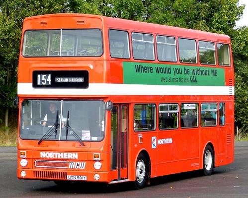 UTN 501Y 'Northern' No. 3501 MCW DR102/37 Metrobus 2 on Dennis Basford's railsroadsrunways.blogspot.co.uk'