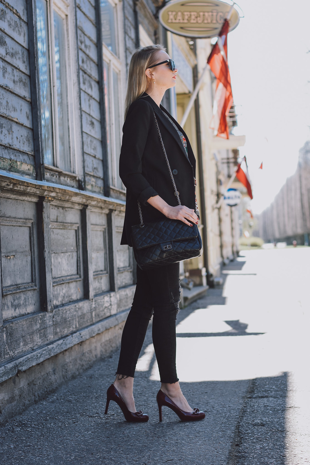 Fashion blogger from Latvia