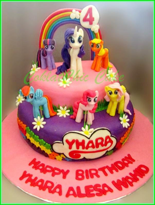 Cake My Little Pony YHARA 24 cm