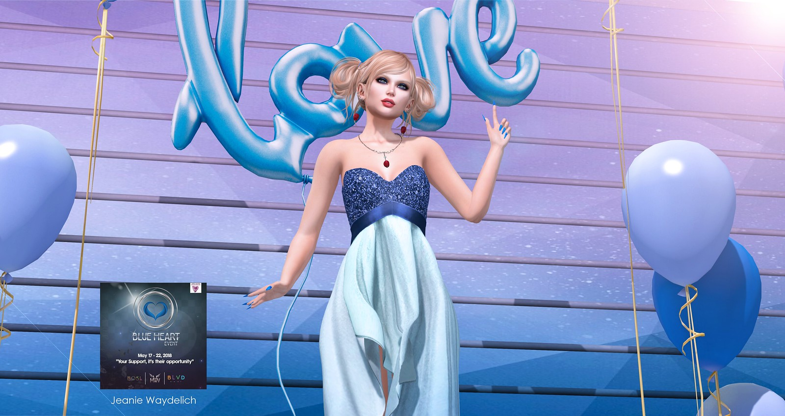 LOTD 967 - Blue Party