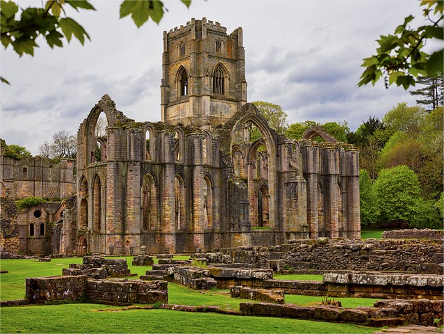The Iconic Fountains Abbey Yorkshire