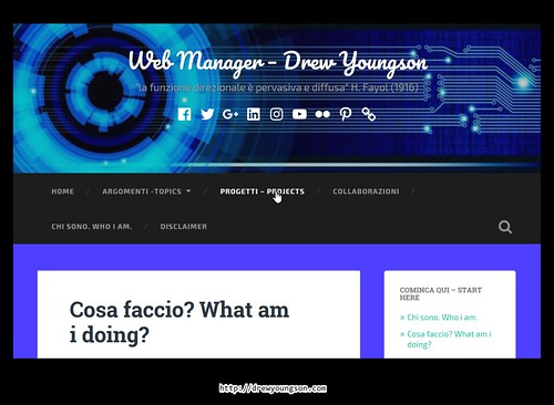Sito web Drew youngson's Web Site | by Drew Youngson