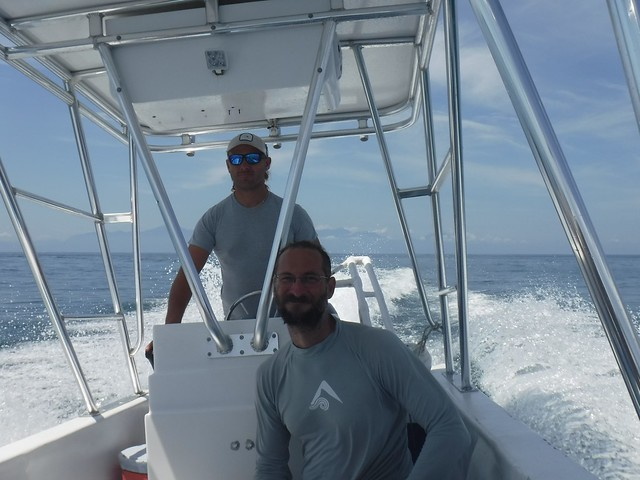 Denny and Jay, Looking for Whale Sharks