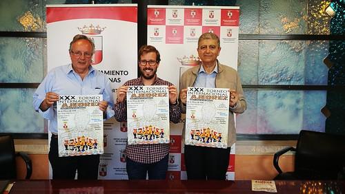 Presentación del Torneo Internacional de Ajedrez y de Mayores de 60 años