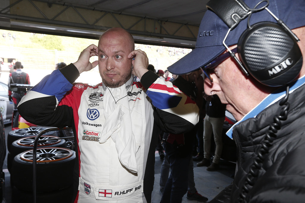 HUFF Rob, (gbr), Volkswagen Golf GTI TCR team Sebastien Loeb Racing, portrait during the 2018 FIA WTCR World Touring Car cup of Zandvoort, Netherlands from May 19 to 21 - Photo Jean Michel Le Meur / DPPI