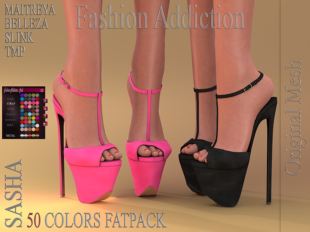 SASHA SHOES @ .Suicide DollZ.
