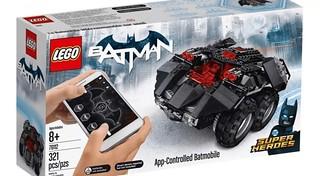重裝蝙蝠車讓你隨意操控,太好玩啦!! LEGO 76112 DC 超級英雄系列【App 遙控蝙蝠車】App-Controlled Batmobile
