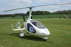 G-CGYX AutoGyro Europe Cavalon (RSUK/CVLN/001)  Popham 040514