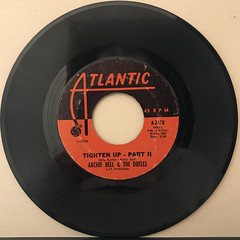 ARCHIE BELL & THE DRELLS:TIGHTEN UP(RECORD SIDE-B)