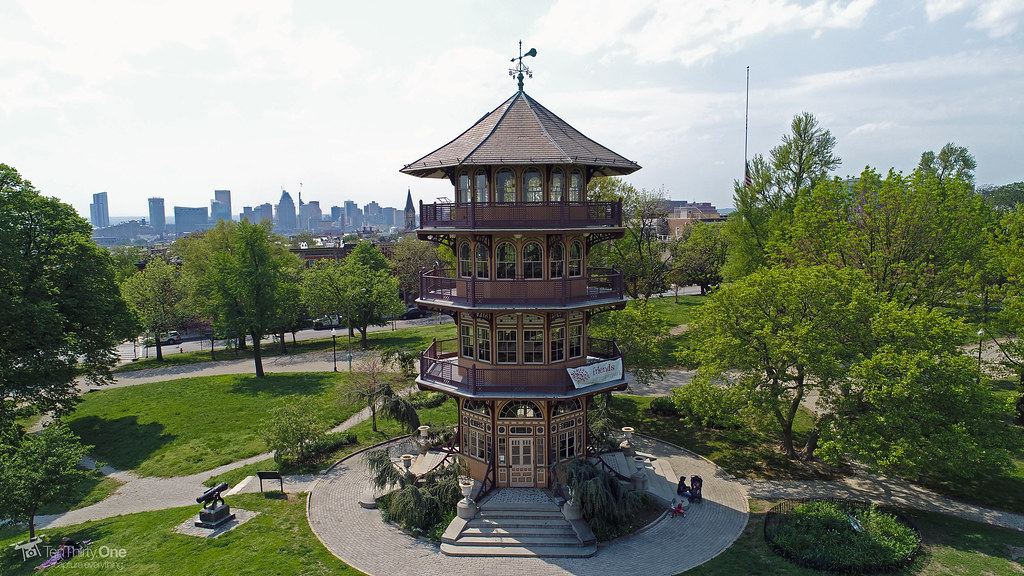 Pagoda at Patterson Park | Baltimore City, Maryland