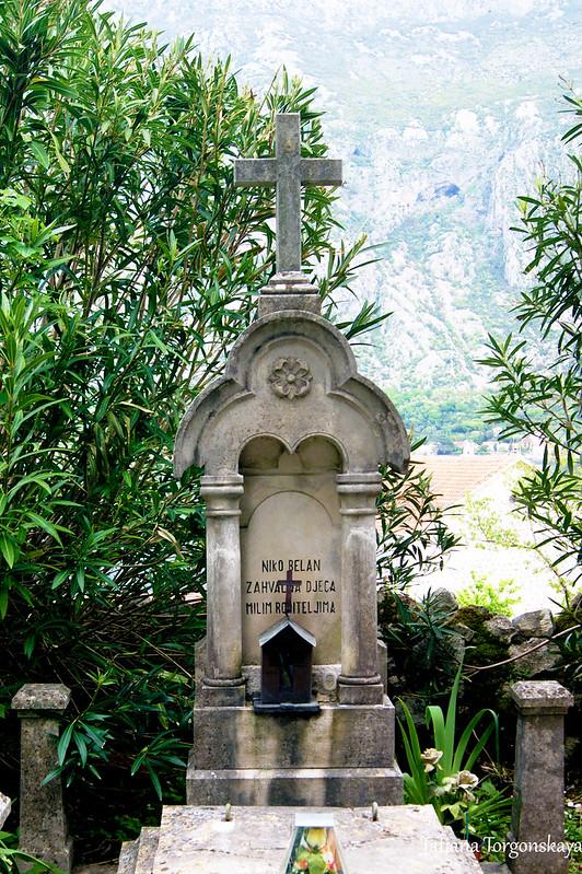 Надгробие Нико Белана