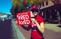 We Support Red for Ed-2