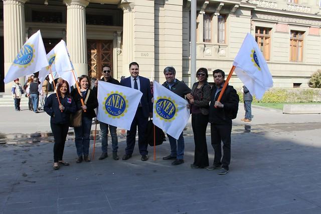 ANEF en Tribunales por despidos (07-05-2018)