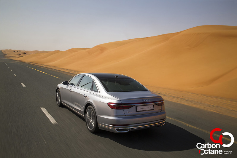 First Drive of the All New 2019 Audi A8 carbonoctane 10
