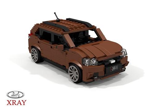 Lada XRAY Crossover - 2016