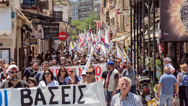 EEDYE mobilizations (Creta)