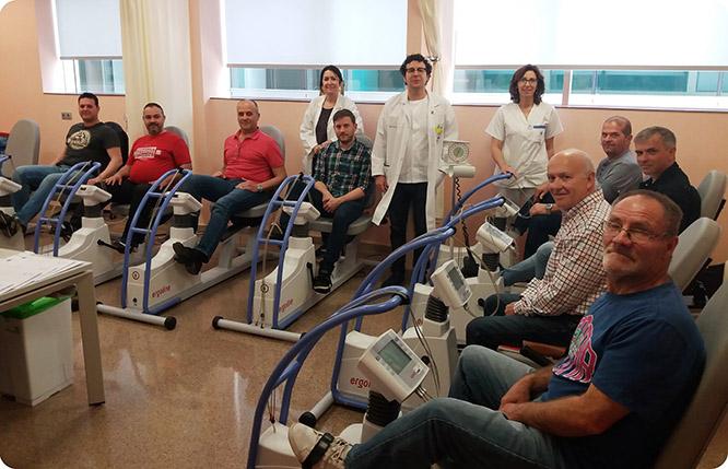 Más del 30 por ciento de los pacientes en Rehabilitación Cardiaca del Hospital Santa Lucía tienen diabetes tipo 2