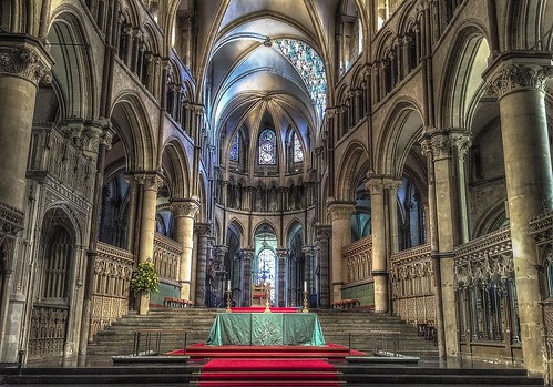 Canterbury Cathedral. From Studying Abroad in London: 10 Places Not to Miss Like I Did! Part 2