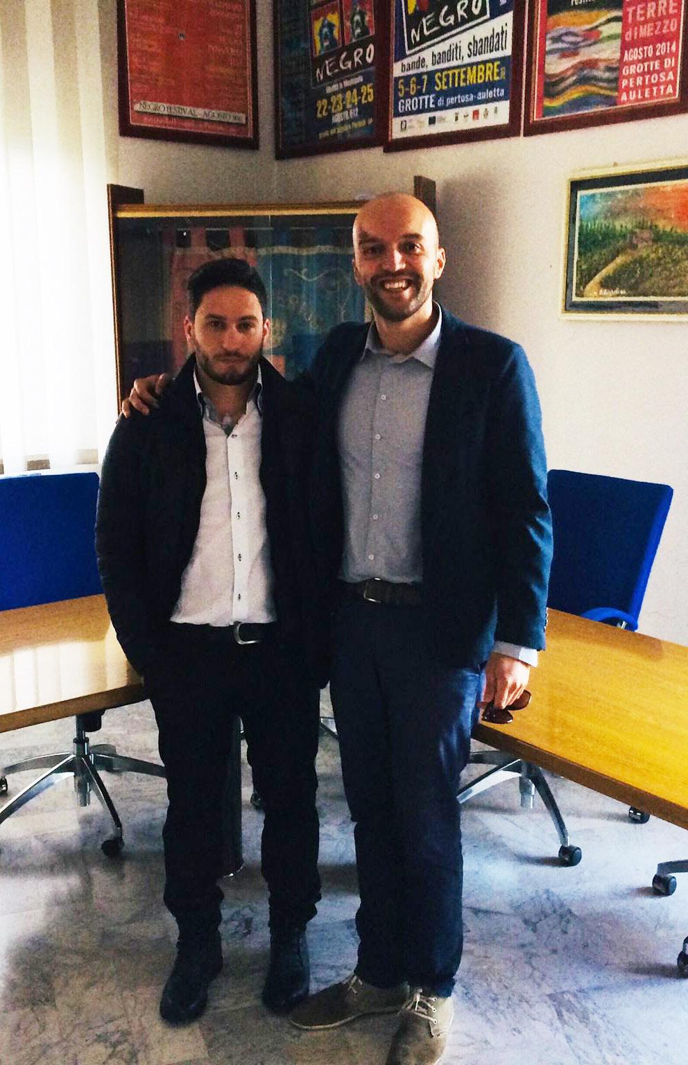 Michele Casella e Vito Panzella Pertosa