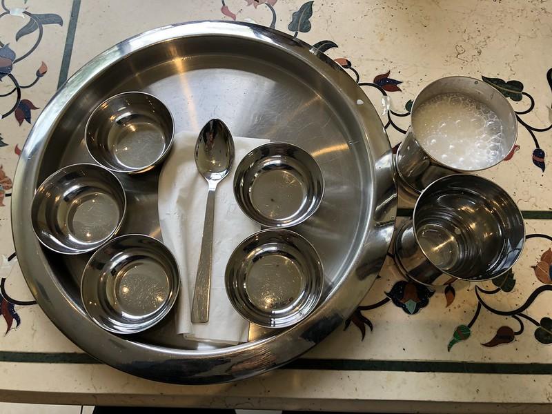 Rajdhani Thali Restaurant- Artesia, CA: Plates