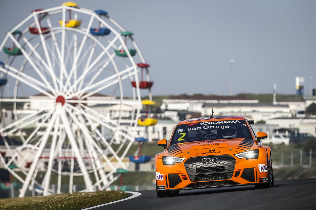 02 VAN ORANJE Bernhard (ned), Audi RS3 LMS, Bas Koeten Racing, action during the 2018 FIA WTCR World Touring Car cup of Zandvoort, Netherlands from May 19 to 21 - Photo Francois Flamand / DPPI
