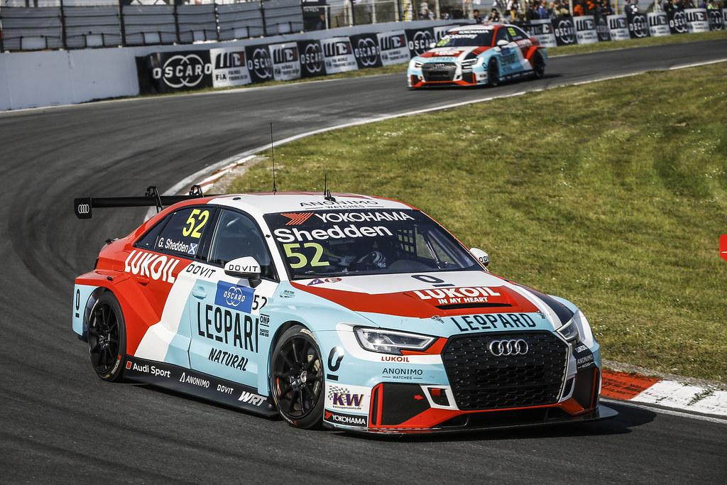 52 SHEDDEN Gordon, (gbr), Audi RS3 LMS TCR team Audi Sport Leopard Lukoil, action during the 2018 FIA WTCR World Touring Car cup of Zandvoort, Netherlands from May 19 to 21 - Photo Jean Michel Le Meur / DPPI
