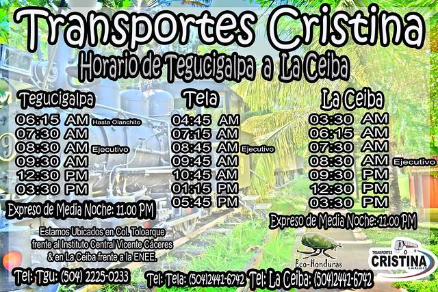 Horarios de Cristina Lacba