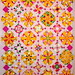 T-Pink & Yellow Garden by Linda Rotz Miller Quilts & Quilt Tops