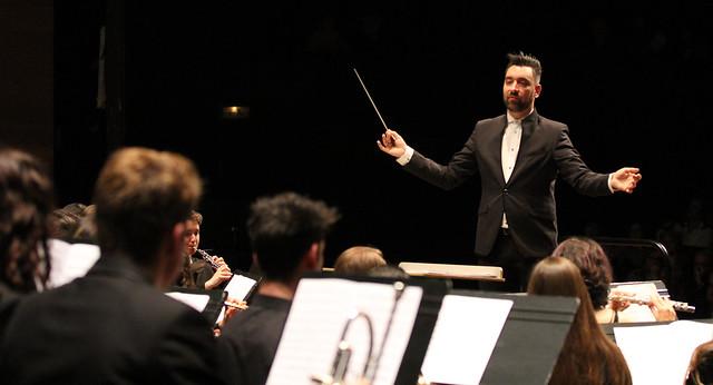 """III MEMORIAL DIEGO PEREZ - JOSÉ ALBERTO PINA DIRIGE LA BANDA DE MÚSICA JUVENTUDES MUSICALES-UNIVERSIDAD DE LEÓN EN EL ESTRENO DE SU OBRA """"GHOST SHIP"""" EN CASTILLA Y LEÓN - AUDITORIO CIUDAD DE LEÓN 1.05.18"""