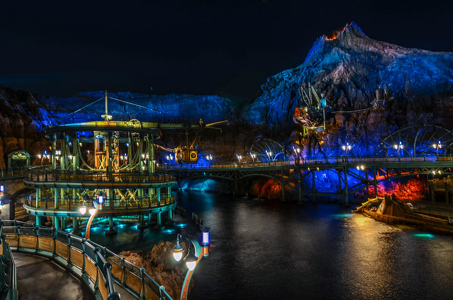 Mysterious Island water TDS