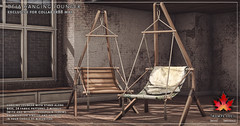 Trompe Loeil - Deja Hanging Lounger for Collabor88 May